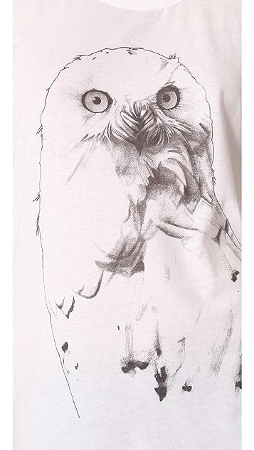 Tess Giberson Animal Print Tee