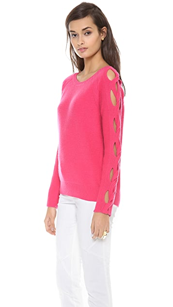 Tess Giberson Open Cable Sweater
