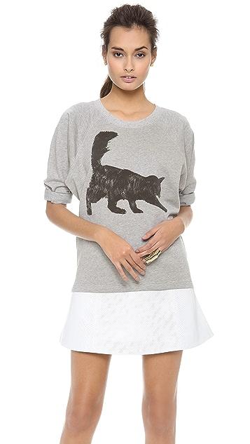 Tess Giberson Cat Sweatshirt