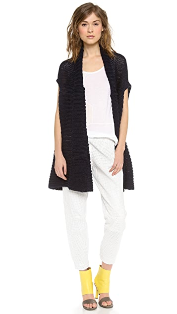Tess Giberson Unstructured Knit Vest