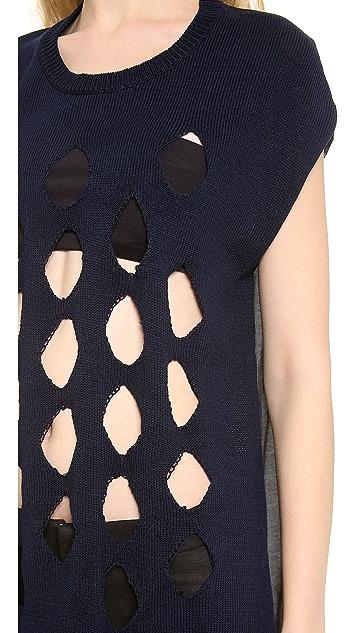 Tess Giberson Knit Tunic Top