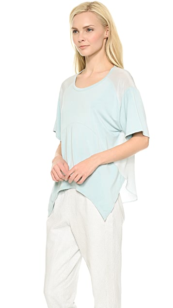 Tess Giberson Remixed Slouchy Top