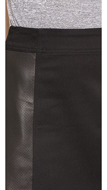 Tess Giberson Deconstructed Miniskirt