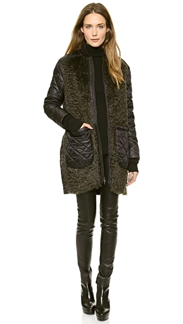 Tess Giberson Quilted Coat Liner
