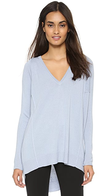 Tess Giberson Oversized V Neck Sweater