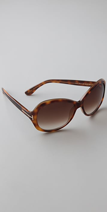 c6634bbb32f Tom Ford Eyewear Cecile Sunglasses