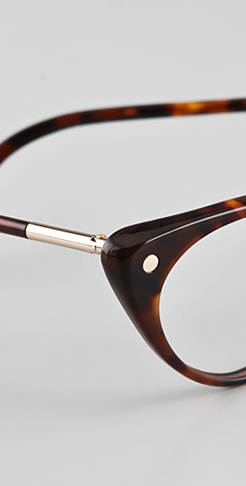 Tom Ford Eyewear Cat Eye Glasses