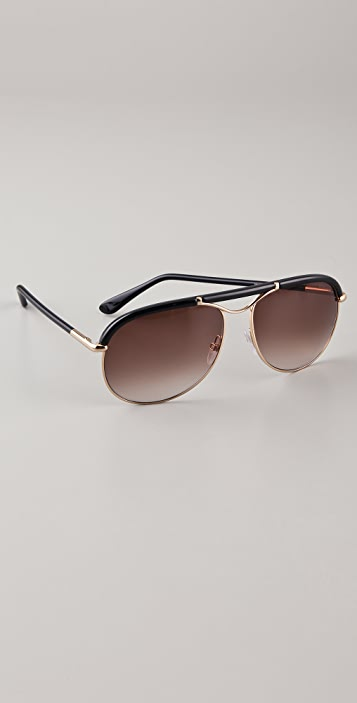 4c658f2d63e9 Tom Ford Eyewear Marco Sunglasses | SHOPBOP
