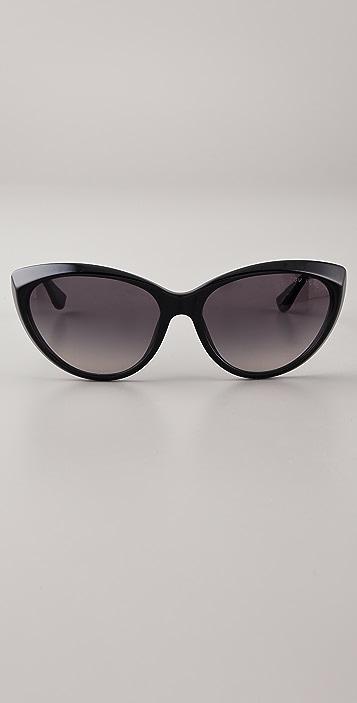 915cd1d7a4b76 ... Tom Ford Eyewear Martina Cat Eye Sunglasses ...