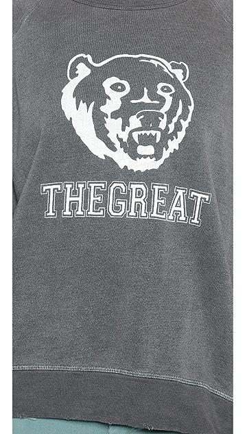 THE GREAT. The Bear Sweatshirt