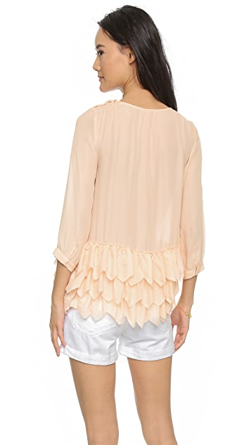 THE GREAT. The Frill Tunic