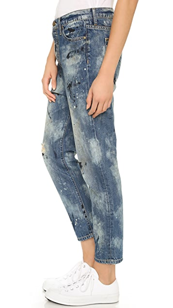THE GREAT. The Mister Slouchy Boyfriend Jeans
