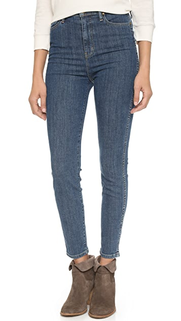 THE GREAT. The Super High Rise Jeans