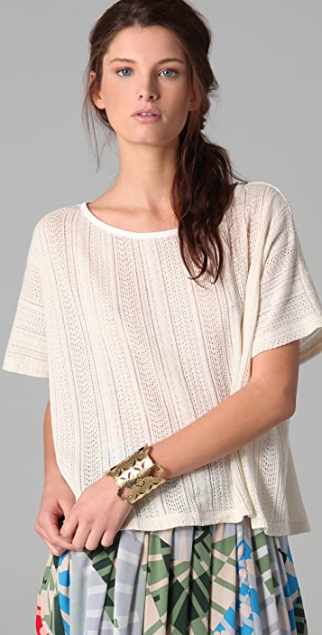 Thakoon Addition Boxy T-Shirt