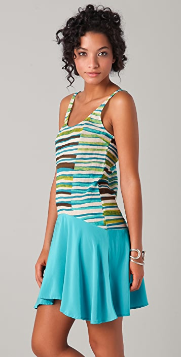Thakoon Addition Asymmetrical Tank Dress
