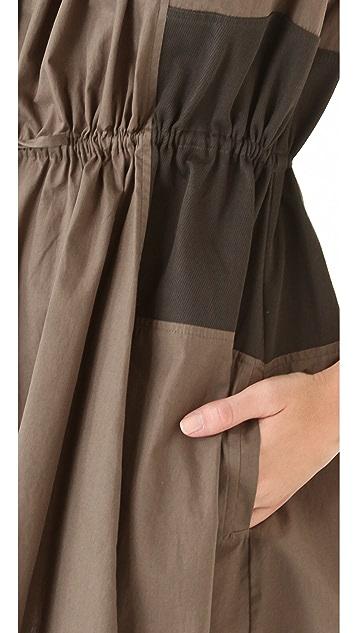 Thakoon Addition Drawstring Shirtdress
