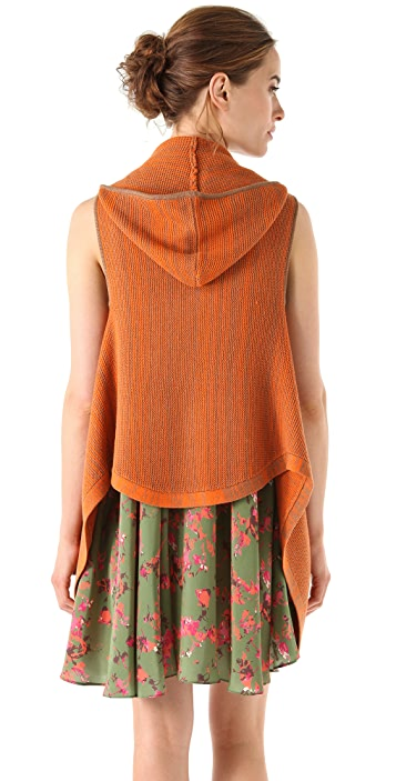 Thakoon Addition Knit Hooded Vest