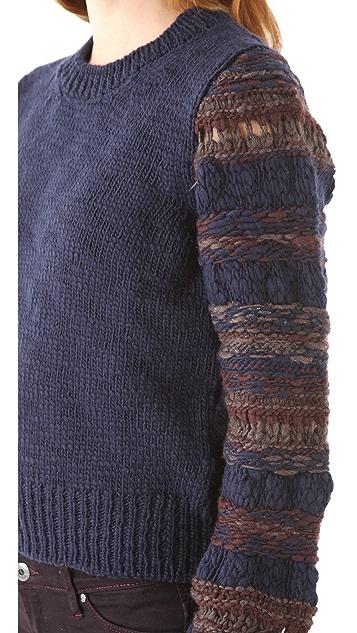 Thakoon Addition Stripe Knit Pullover
