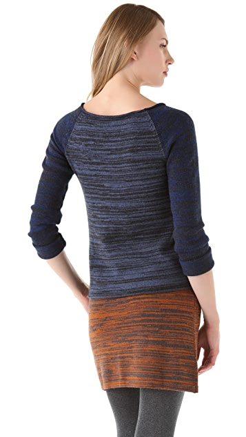 Thakoon Addition Marled Boat Neck Sweater