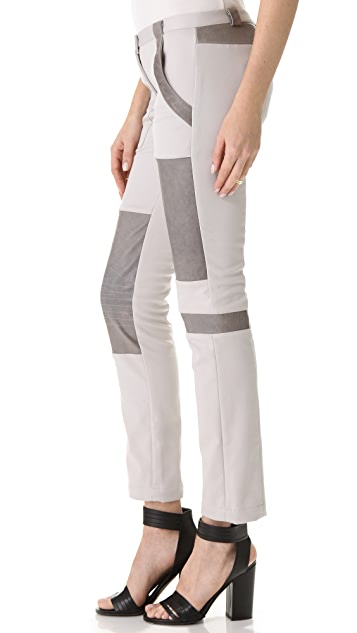 Thakoon Addition Patchwork Combo Pants