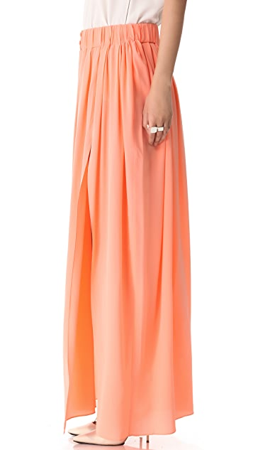 Thakoon Addition Slit Front Maxi Skirt