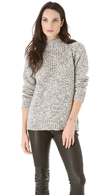 Thakoon Addition Marled Pullover
