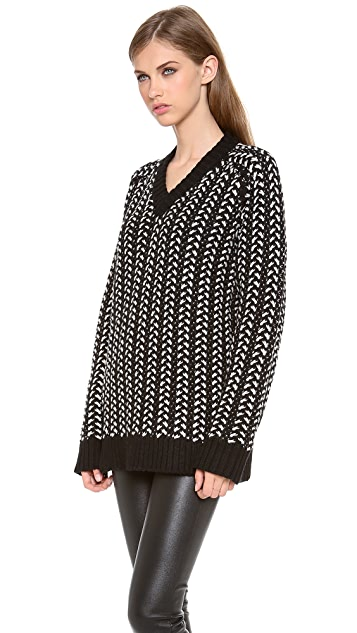 Thakoon Addition Cable Pullover