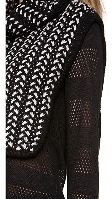 Thakoon Addition Funnel Neck Dickey