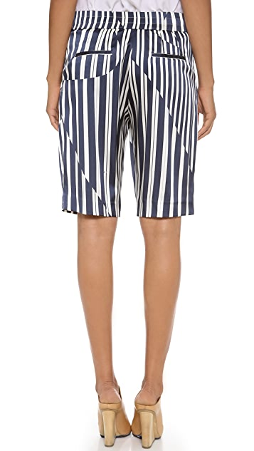 Thakoon Addition Knee Length Shorts