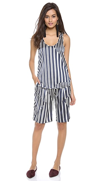 Thakoon Addition Striped Tank