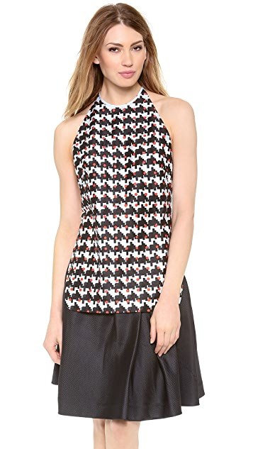 Thakoon Addition Tie Back Top