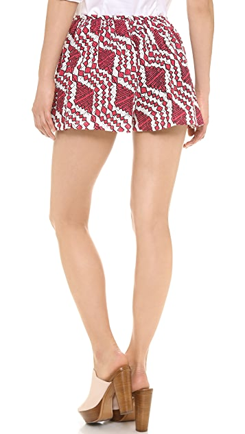 Thakoon Addition Printed Full Shorts