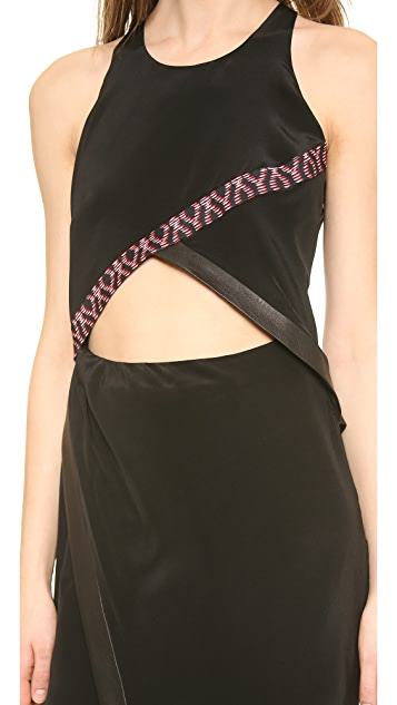 Thakoon Addition Sleevelesss Layered Silk Dress