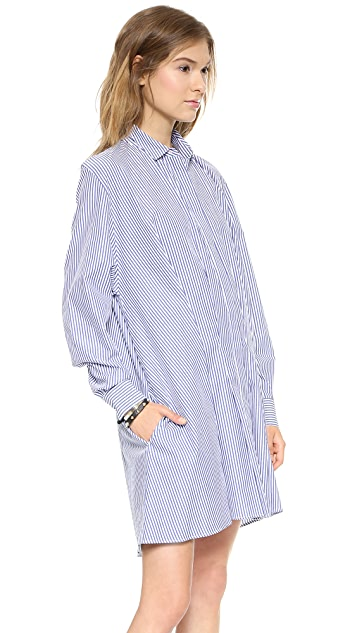 Thakoon Addition Tuck Front Shirtdress