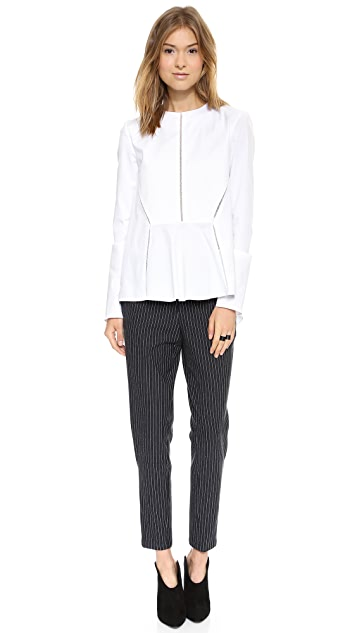 Thakoon Addition Side Zip Ponte Pants