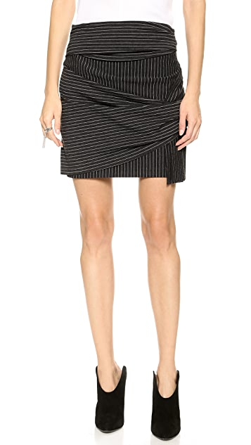 Thakoon Addition Wrap Skirt