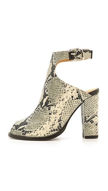 Thakoon Addition Erika Snake Embossed Sandals