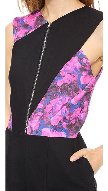 Thakoon Addition Cutout Back Dress