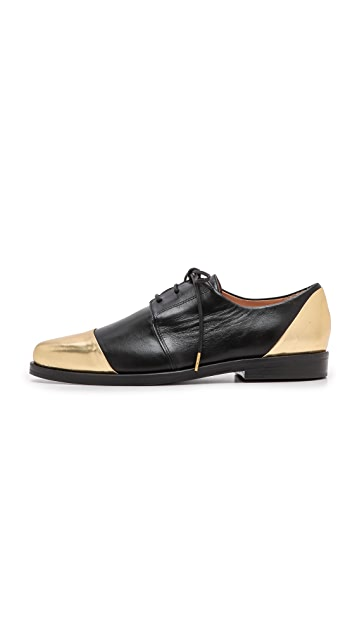 Thakoon Addition Metallic Oxfords