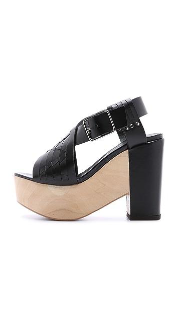 Thakoon Addition Bassy Clog Sandals