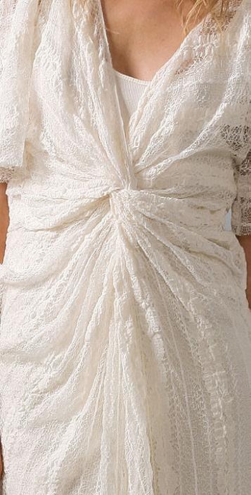 Thakoon Twist Front Lace Dress