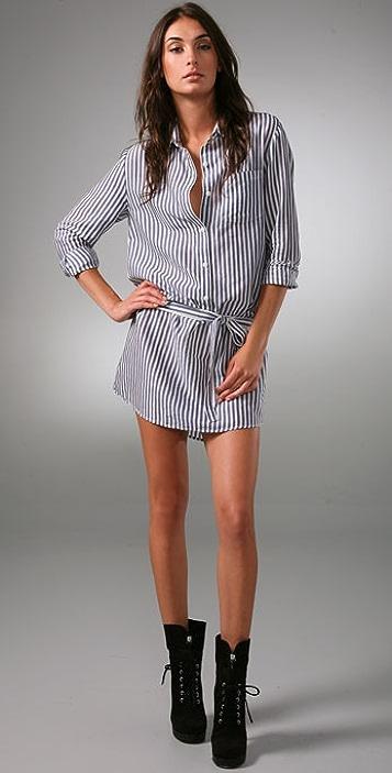 Thakoon Button Front Shirtdress