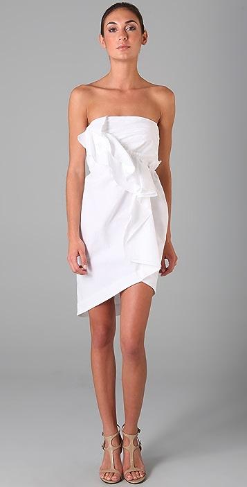 Thakoon Gathered Front Dress
