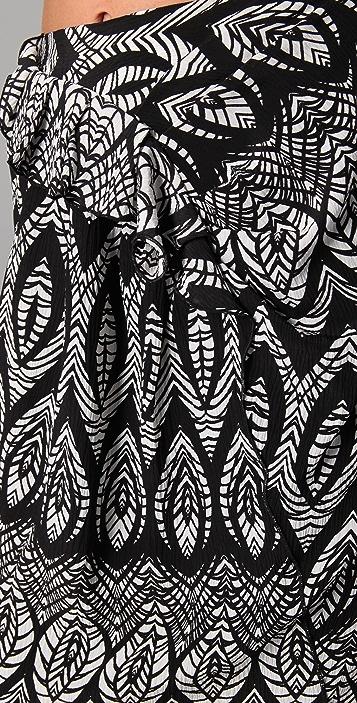 Thakoon Ruffle Front Skirt