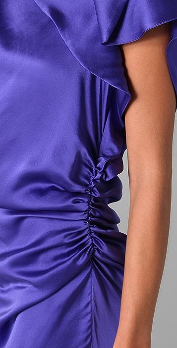 Thakoon Side Draped Dress