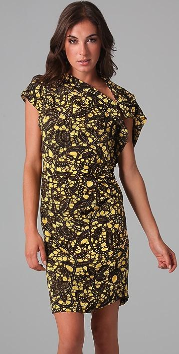 Thakoon Gathered Side Dress