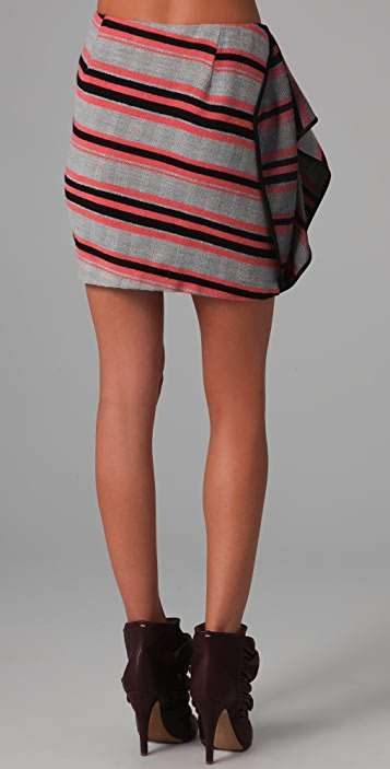 Thakoon Side Draped Skirt