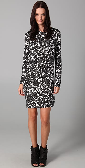 Thakoon Thakoon Carbon Copy Draped Dress