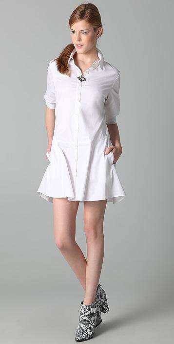 Thakoon Poplin Shirtdress