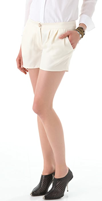 Thakoon Pleat Front Shorts